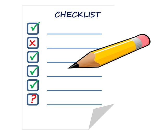 check list cliente ideale